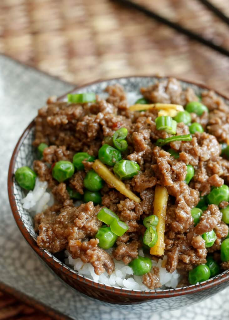 Cheater Korean Beef - this simple recipe comes together in minutes and is full of fantastic flavors. It's easier than ordering take-out, saves you the money, and tastes better too!