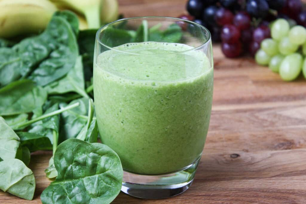 "The best Green Smoothies shouldn't taste ""green"" at all! - recipe by Barefeet In The Kitchen"