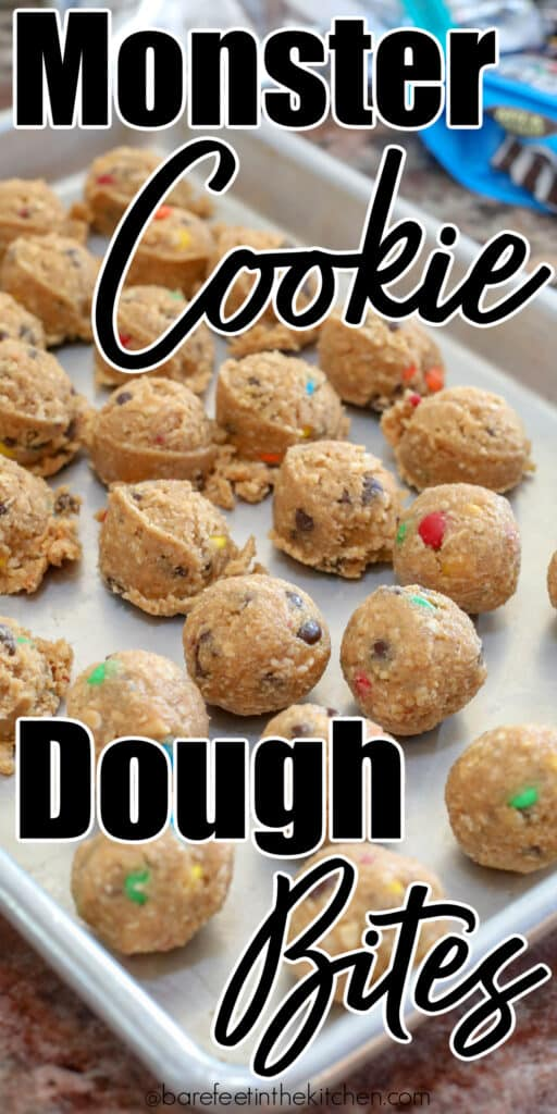 No one can resist these bites of monster cookie dough!