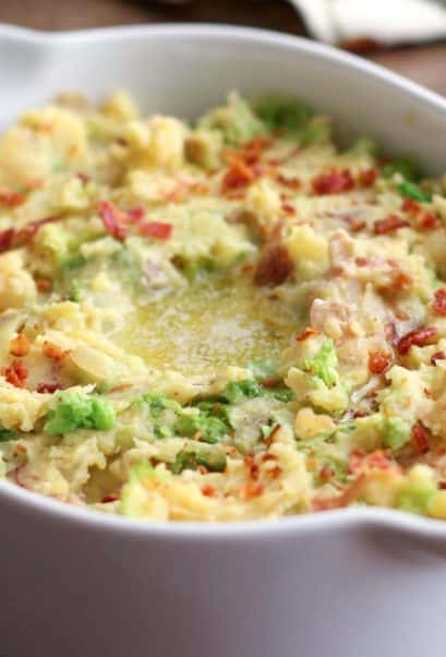 Irish Colcannon is a crowd favorite!