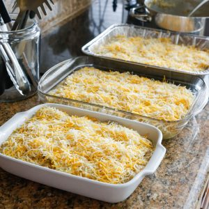 Cheesy Chicken and White Bean Enchiladas