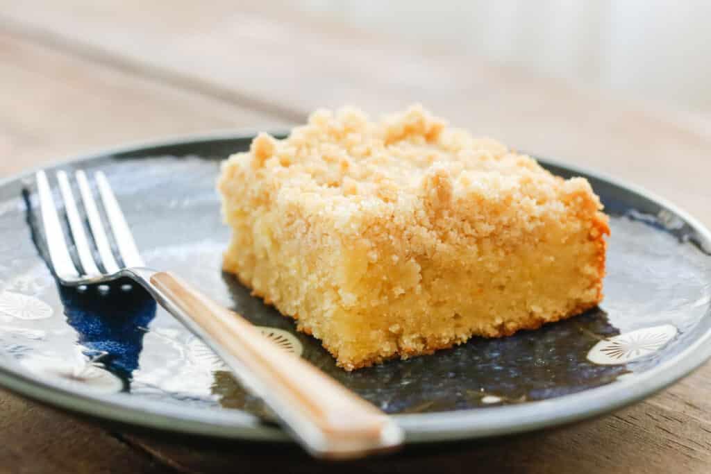 Lemon Coffee Cake - get the recipe at barefeetinthekitchen.com