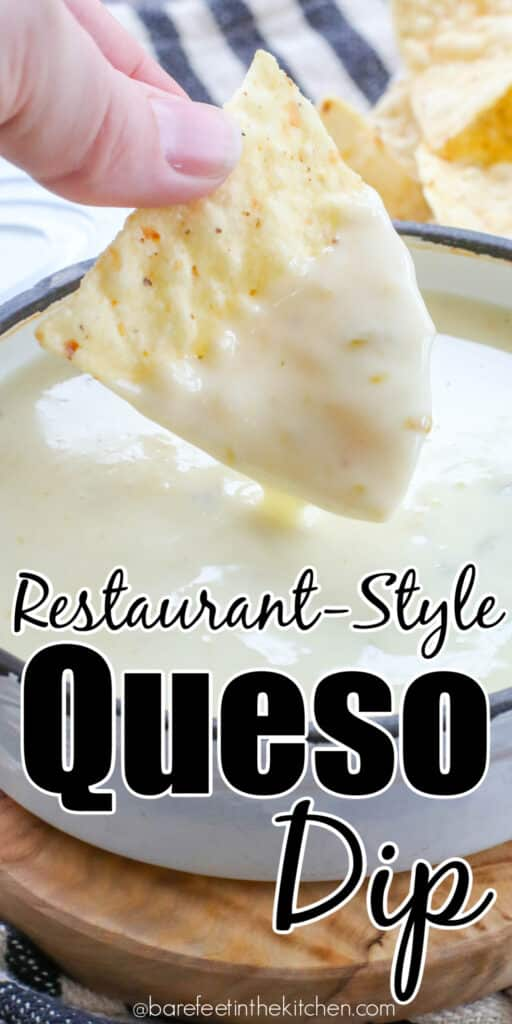It's easier than you think to make restaurant style queso at home!