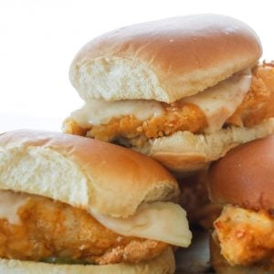 Homemade {Baked} Chick-fil-A Sandwiches