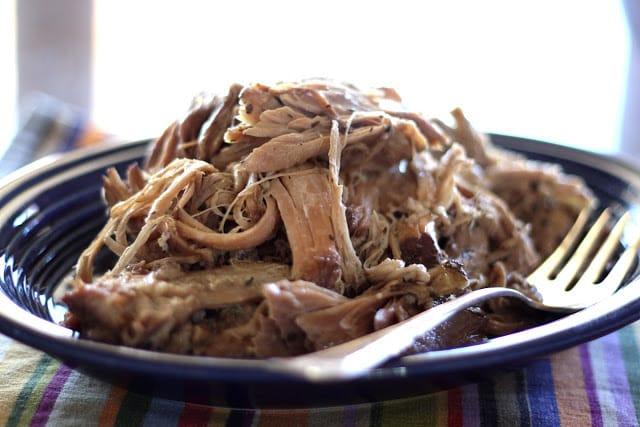 Italian Red Wine Pork Roast recipe by Barefeet In The Kitchen