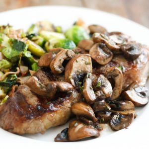 Rosemary Mushrooms