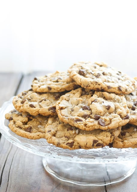 The Ultimate Salted Chocolate Chip Cookies (copycat recipe from La Grande Orange Grocery) - get the recipe at barefeetinthekitchen.com