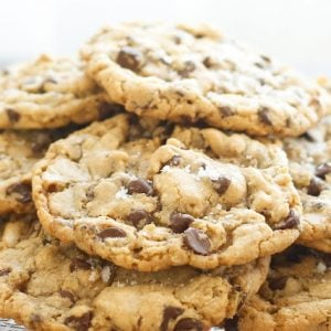 The Ultimate Salted Chocolate Chip Cookies