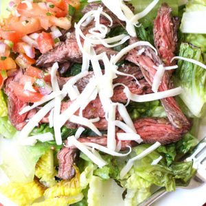 Carne Asada Steak {for salad or tacos}