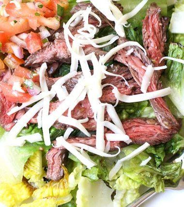 Carne Asada Steak {for salad or tacos}