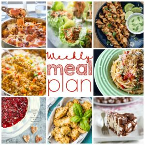 Weekly Meal Plan for July 27 – August 2