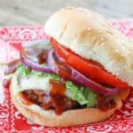 Have you tried a Filthy Burger? If not, you are missing out! Find out how to make one at barefeetinthekitchen.com