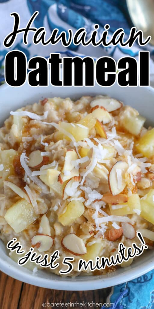 You need to try this Hawaiian Oatmeal!