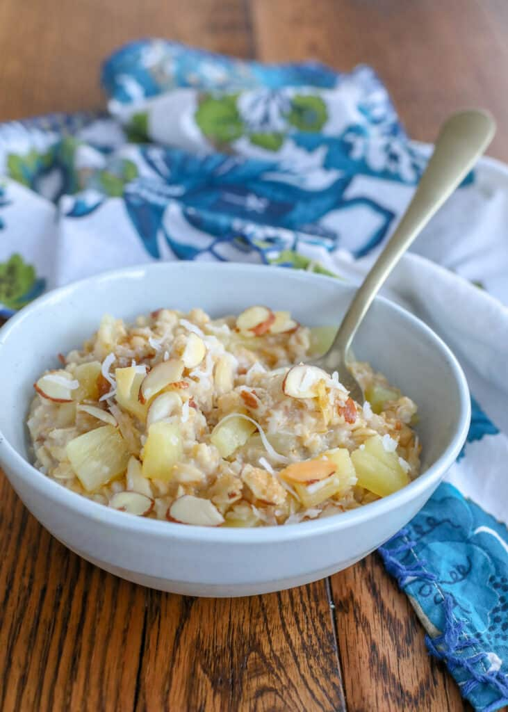 No one can resist this Hawaiian inspired oatmeal!