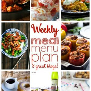Weekly Meal Plan for August 17 – August 23
