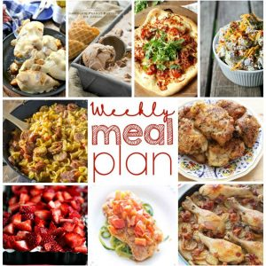Weekly Meal Plan for August 24 – August 30