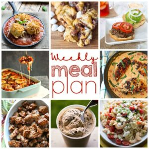 Weekly Meal Plan for August 10 – August 16