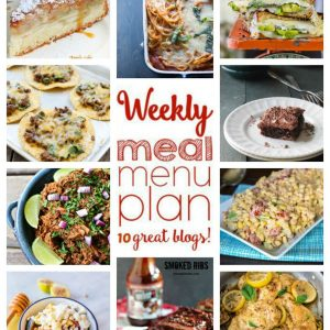 Weekly Meal Plan for August 31 – September 6