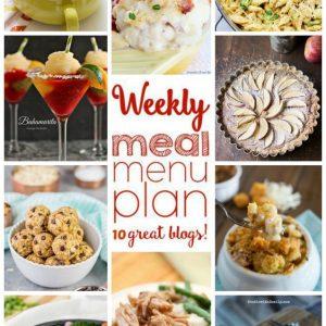 Weekly Meal Plan for September 21- September 27