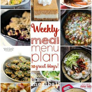 Weekly Meal Plan for September 7 – September 13