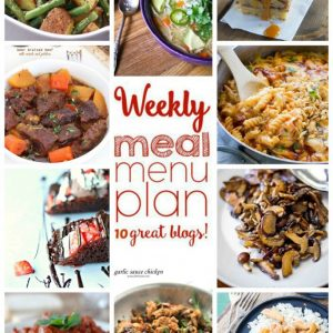 Weekly Meal Plan for September 28 – October 4