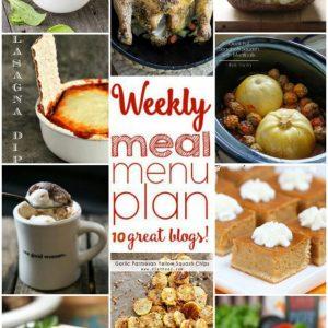 Weekly Meal Plan for September 14 – September 20