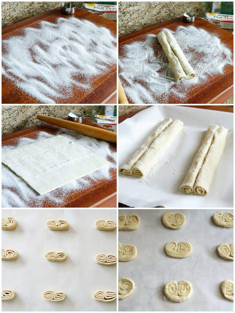 How To Make Palmiers - get the directions at barefeetinthekitchen.com