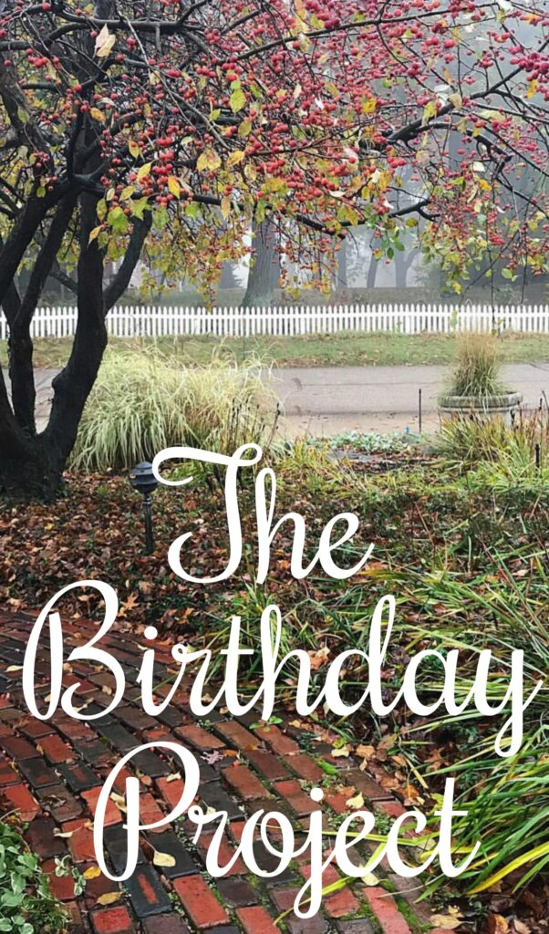 The Birthday Project acts of kindness add up to an unforgettable way to spend your special day. - find all the details at barefeetinthekitchen.com