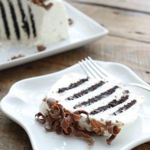 {2 Ingredient} Chocolate Zebra Cake