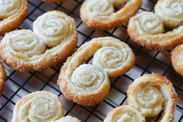 How To Make Palmiers - just 2 ingredients!