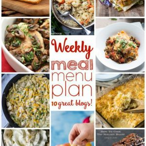 Weekly Meal Plan for October 19 – October 25