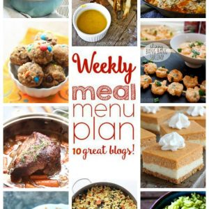 Weekly Meal Plan for October 5 – October 11