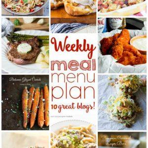 Weekly Meal Plan for November 2 – November 8