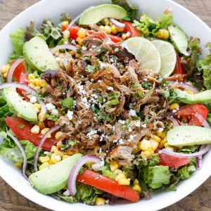 Carnitas Salad Bowl
