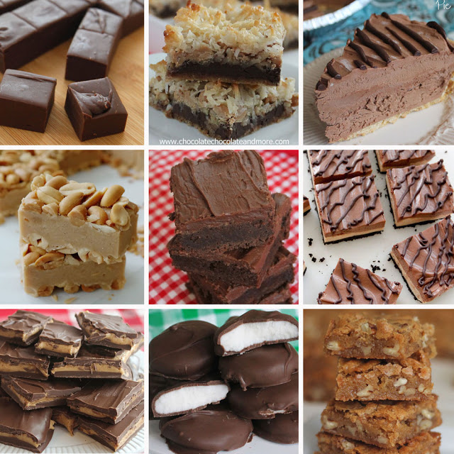 Sweets and treats from Chocolate, Chocolate and More #chocolateforjoan