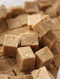 Creamy Peanut Butter Fudge is a favorite with everyone!