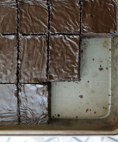 Lunch Lady Brownies – Chocolate for Joan