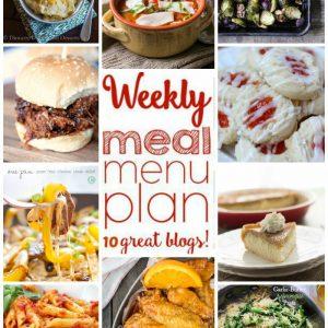Weekly Meal Plan for November 9 – November 15