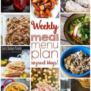 Weekly Meal Plan for November 23 – November 29