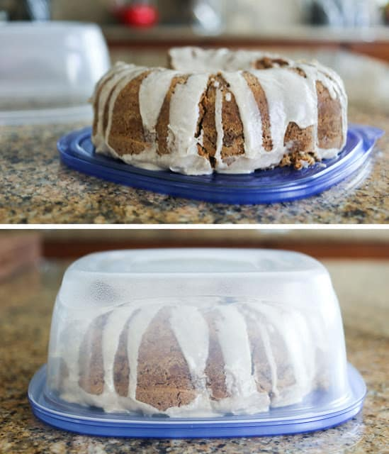 Kitchen Tip: Store leftover cakes without messing up the frosting!