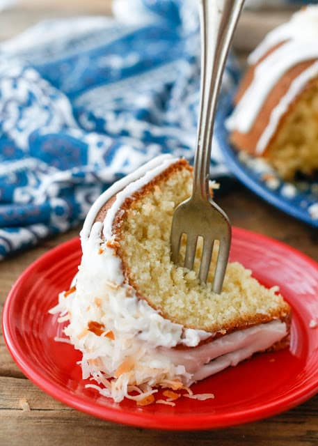 Best Ever Coconut Pound Cake