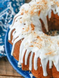 Coconut Pound Cake is pure coconut heaven!