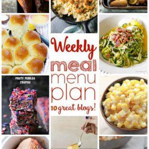Weekly Meal Plan for November 16 – November 22