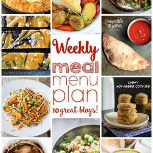 Weekly Meal Plan for December 7 – December 13