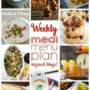 Weekly Meal Plan for December 21 – December 27