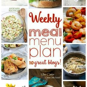 Weekly Meal Plan for December 28 – January 3