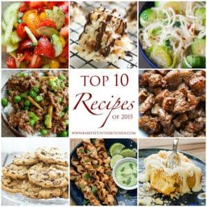 10 Most Popular Recipes of 2015