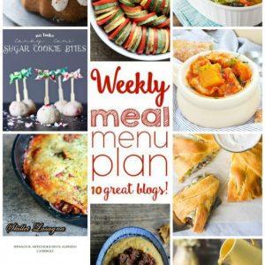 Weekly Meal Plan for December 14 – December 20