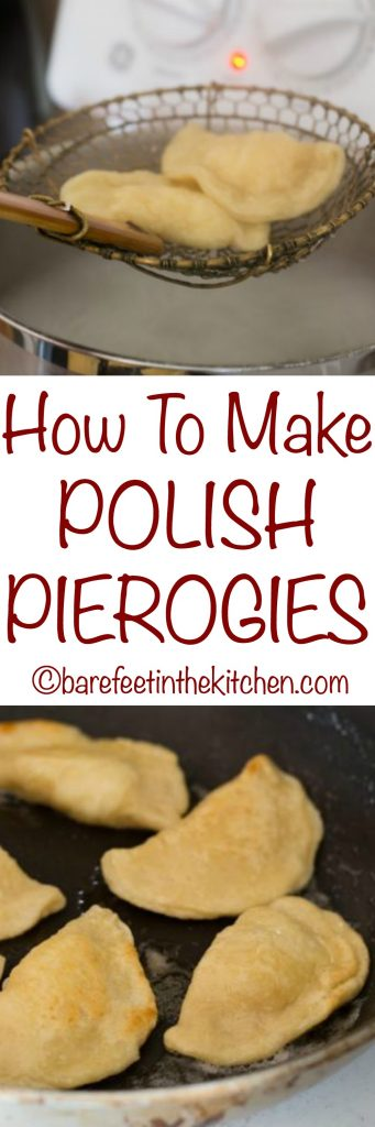 How To Make Polish Pierogies - get the recipe at barefeetinthekitchen.com