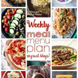 Weekly Meal Plan for January 11 – January 17
